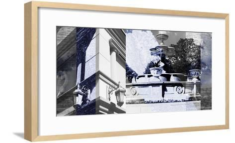 Architecture Collage II-Sisa Jasper-Framed Art Print