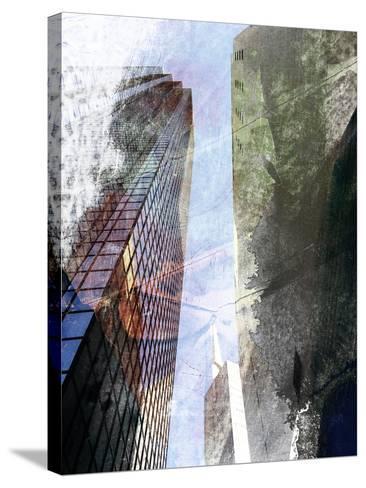 Dallas Architecture III-Sisa Jasper-Stretched Canvas Print
