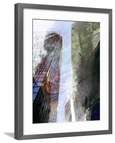 Dallas Architecture III-Sisa Jasper-Framed Art Print