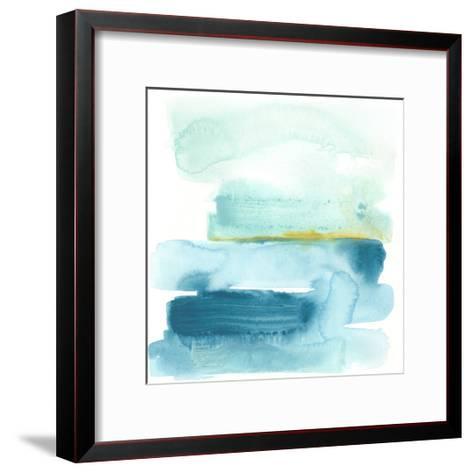 Liquid Shoreline I-June Vess-Framed Art Print