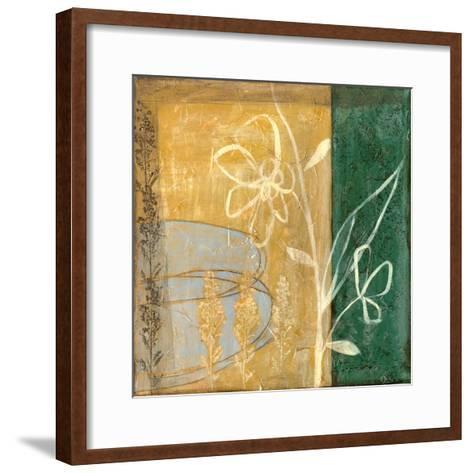 Small Pressed Wildflowers IV-Jennifer Goldberger-Framed Art Print
