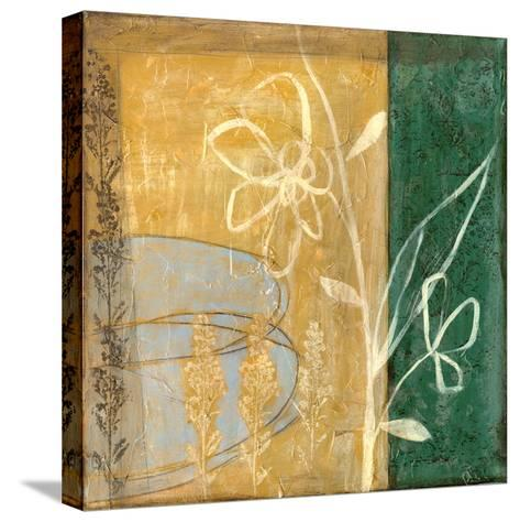 Small Pressed Wildflowers IV-Jennifer Goldberger-Stretched Canvas Print