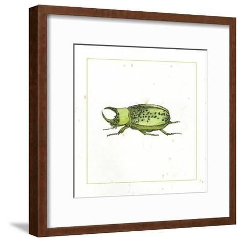 Green Beetle-Vision Studio-Framed Art Print