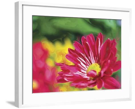 Painterly Flower VI-Lola Henry-Framed Art Print