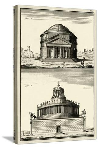 The Pantheon-Diderot-Stretched Canvas Print