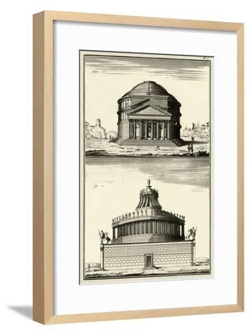 The Pantheon-Diderot-Framed Art Print