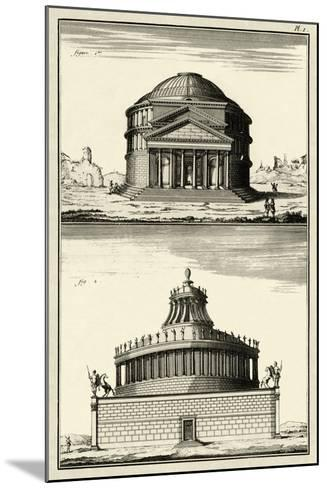 The Pantheon-Diderot-Mounted Art Print