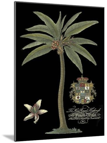Palm on Black I--Mounted Art Print