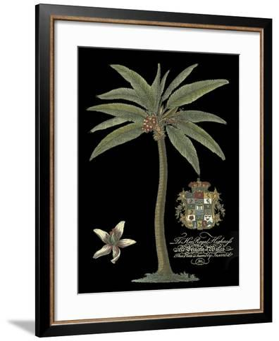 Palm on Black I--Framed Art Print