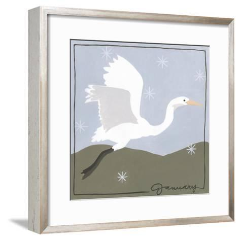 Avian January-Megan Meagher-Framed Art Print