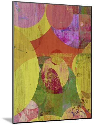 Vibrant Ellipses II-Ricki Mountain-Mounted Art Print