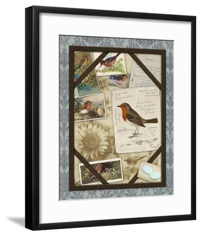 Bird Watching IV-Kate Ward Thacker-Framed Art Print