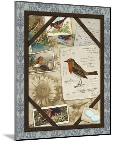 Bird Watching IV-Kate Ward Thacker-Mounted Art Print
