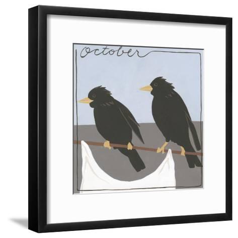 Avian October-Megan Meagher-Framed Art Print
