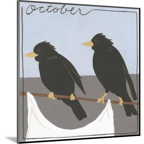 Avian October-Megan Meagher-Mounted Art Print