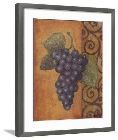 Scrolled Grapes II-Norman Wyatt, Jr^-Framed Art Print