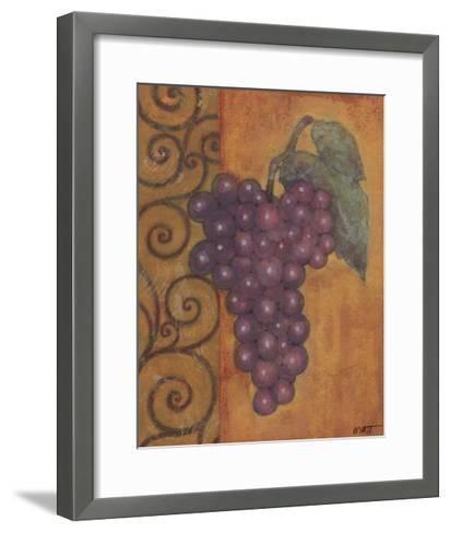 Scrolled Grapes I-Norman Wyatt, Jr^-Framed Art Print