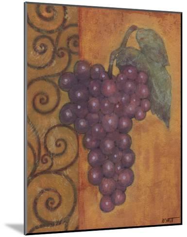 Scrolled Grapes I-Norman Wyatt, Jr^-Mounted Art Print