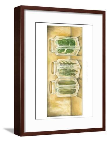 Spice Jars II-Laura Nathan-Framed Art Print