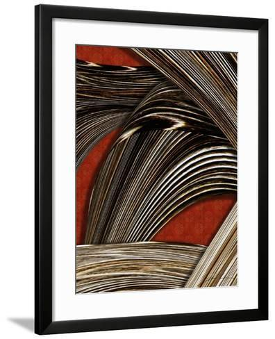 Tangle Tile II-Jason Higby-Framed Art Print