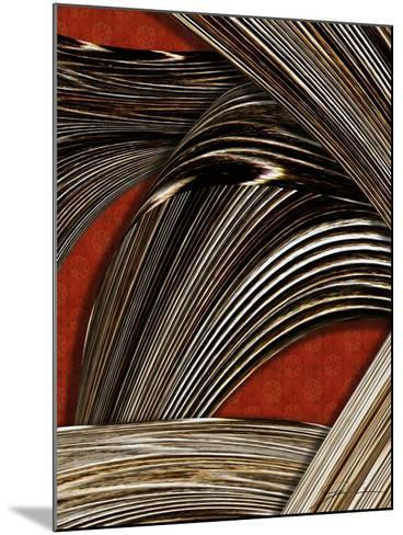 Tangle Tile II-Jason Higby-Mounted Art Print