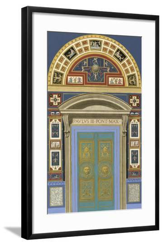 Venetian Door I--Framed Art Print