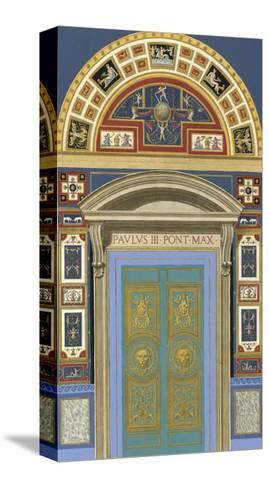 Venetian Door I--Stretched Canvas Print