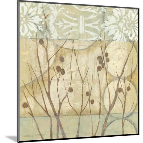 Small Willow and Lace I-Jennifer Goldberger-Mounted Art Print