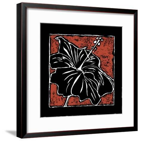Tropical Woodblock I-Chariklia Zarris-Framed Art Print