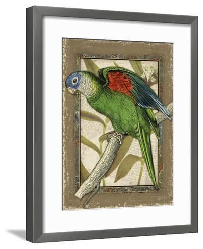 Tropical Bird Composition III-Kate Ward Thacker-Framed Art Print