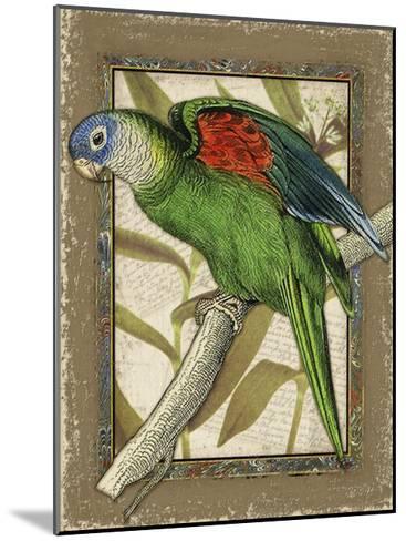 Tropical Bird Composition III-Kate Ward Thacker-Mounted Art Print