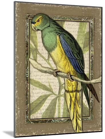 Tropical Bird Composition V-Kate Ward Thacker-Mounted Art Print