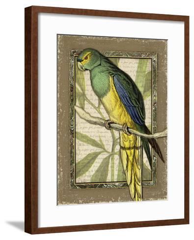 Tropical Bird Composition V-Kate Ward Thacker-Framed Art Print