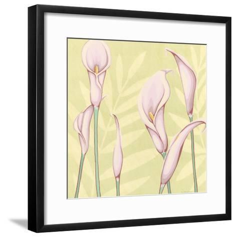 Garden Silhouette II-Megan Meagher-Framed Art Print