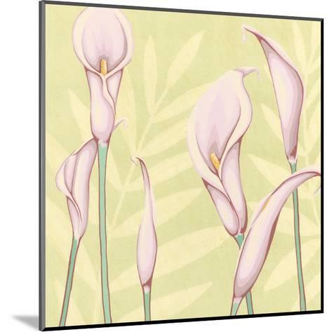 Garden Silhouette II-Megan Meagher-Mounted Art Print