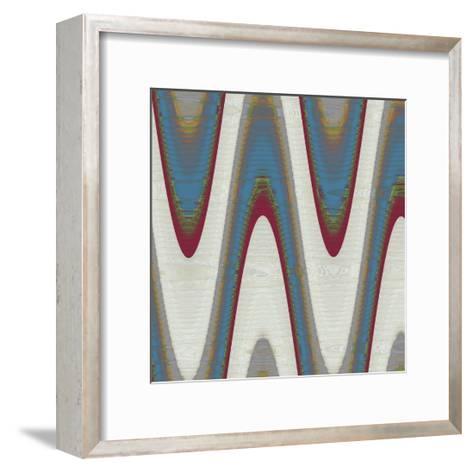 Radio Waves I-Ricki Mountain-Framed Art Print
