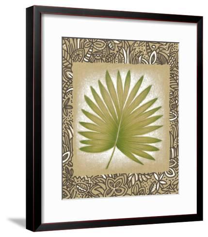 Exotic Palm Leaf II-Vision Studio-Framed Art Print
