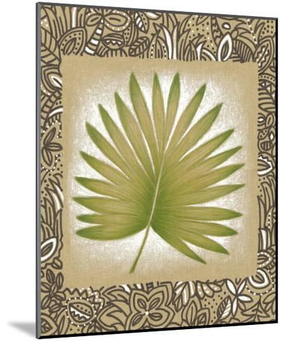 Exotic Palm Leaf II-Vision Studio-Mounted Art Print