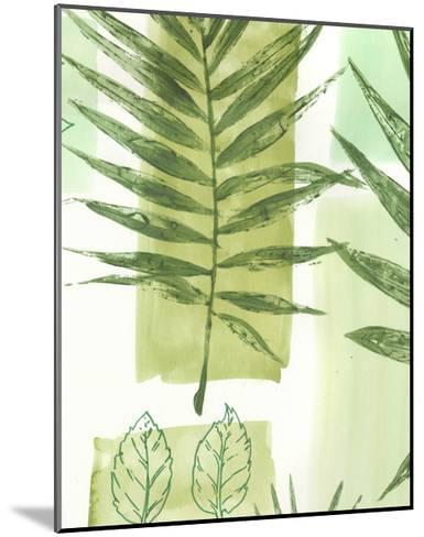 Leaf Impressions III-Vision Studio-Mounted Art Print