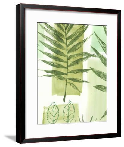 Leaf Impressions III-Vision Studio-Framed Art Print