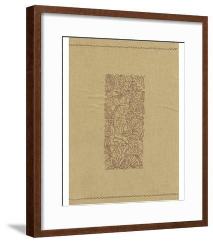 Palm Motif I-Vision Studio-Framed Art Print