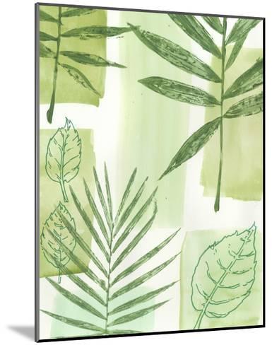 Leaf Impressions IV-Vision Studio-Mounted Art Print