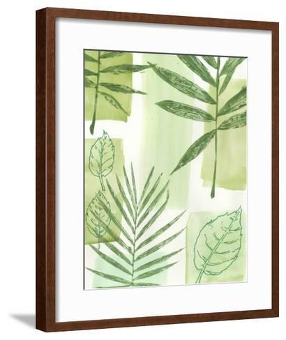 Leaf Impressions IV-Vision Studio-Framed Art Print