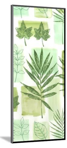 Leaf Impressions VI-Vision Studio-Mounted Art Print