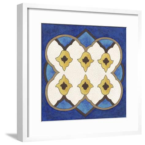 Royal Lapis II-Vanna Lam-Framed Art Print