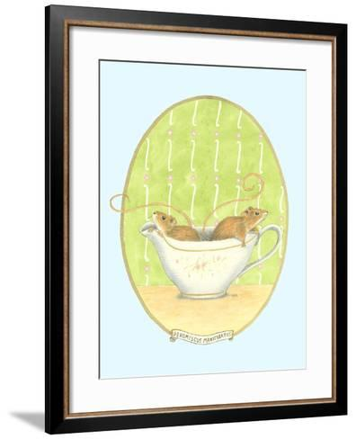 Unexpected Guests IV-Virginia A^ Roper-Framed Art Print