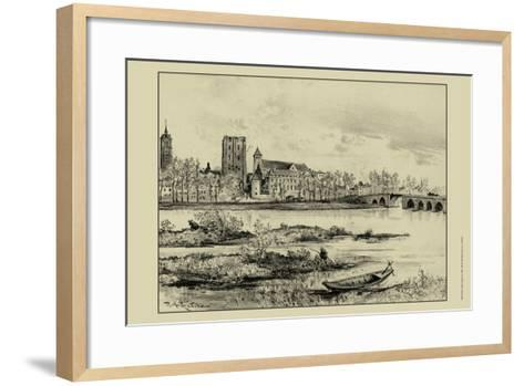 Riverside Estate I-A. Robida-Framed Art Print