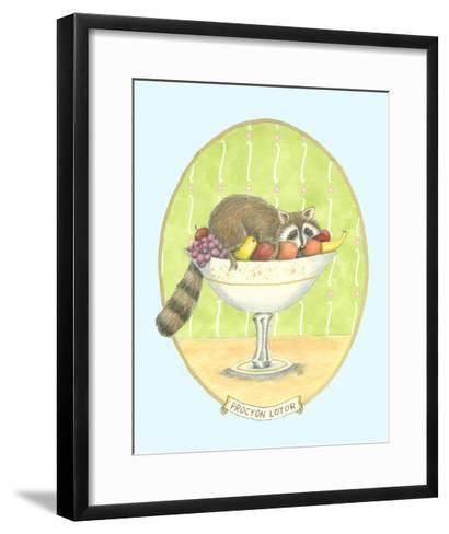 Unexpected Guests III-Virginia A^ Roper-Framed Art Print