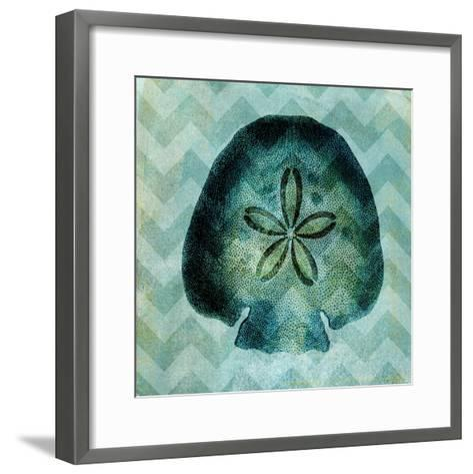 Chevron Shell VI-Vision Studio-Framed Art Print
