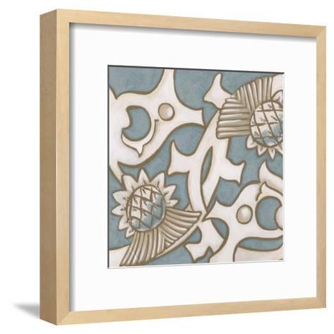 Ornamental Leaf I-Vision Studio-Framed Art Print